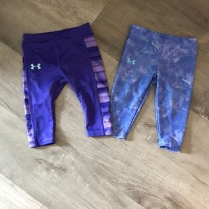 Bottoms - Under Armour baby yoga pants.
